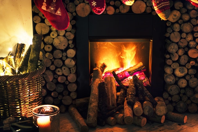 Warm-fire-during-Winter